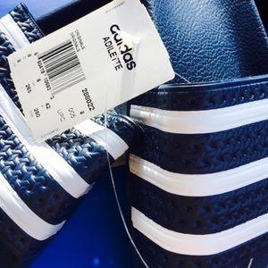 23d9abb6364c adidas Shoes - BNIB ADIDAS ADILETTE SLIDES NAVY WHITE